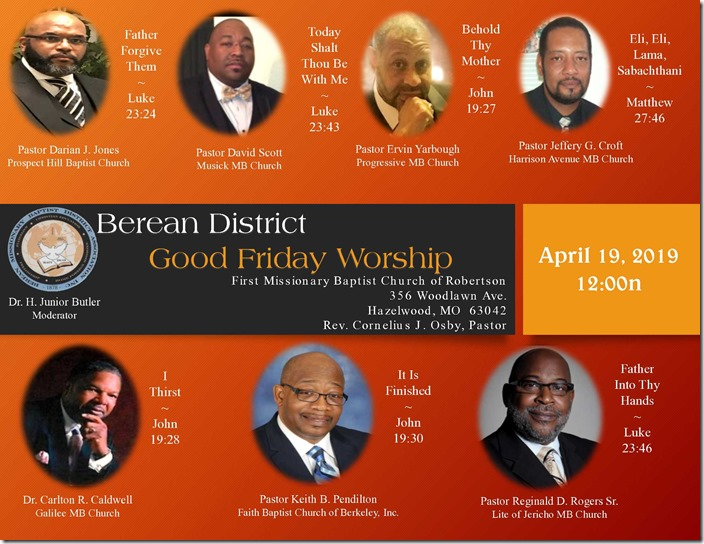 Berean District Good Friday 2019